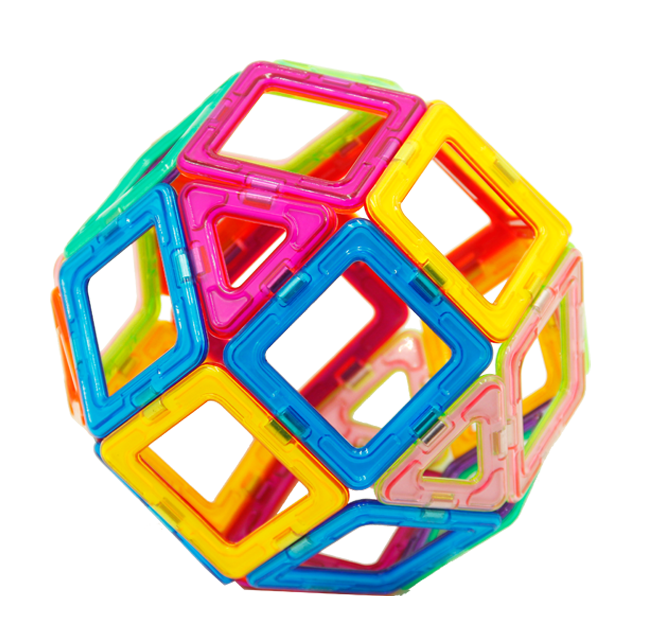 magnetic toy ball